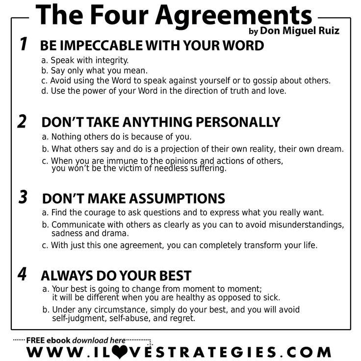 Four Agreements Don Miguel Ruiz Best Wallpaper