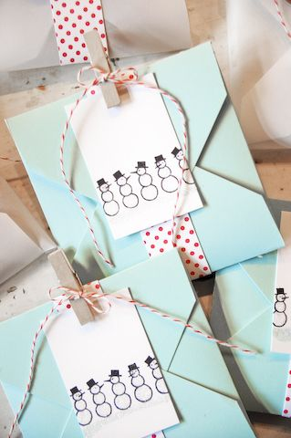 a•muse studio - christmas - gift wrapping ideas