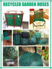 Recycled garden hose ideas | crafts :) | Pinterest