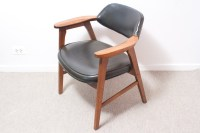 Mid-Century Modern Black Gunlocke Chair, Paoli, Armchair ...