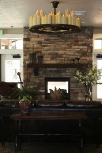 2 Way fireplace | House Ideas | Pinterest