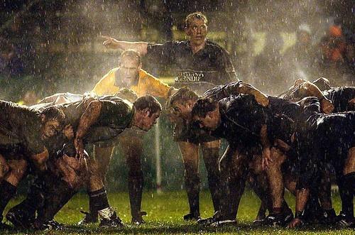 Rugby!  pioggia o sole