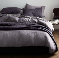 purple/grey bedding | .home.decor. | Pinterest