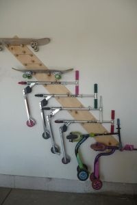Scooter, skateboard holder...perfect! | Interiors ...