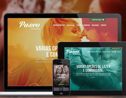Paseo Vila Mariana Hotsite by Victor Guimarães