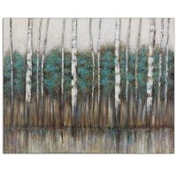 Birch Trees Wall Art Painting