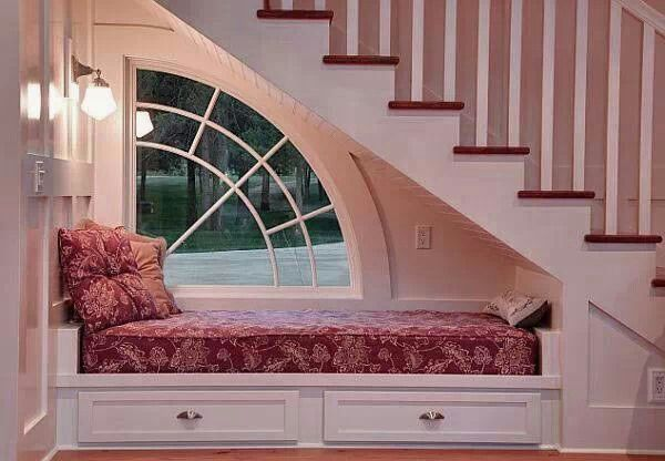 Yes please... Reading nook!
