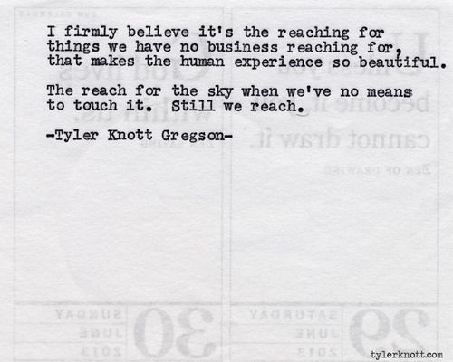 Typewriter Series #517 by Tyler Knott Gregson