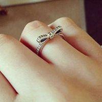 Pandora bow ring | Pandora | Pinterest