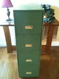 28 Beautiful Repurposed File Cabinets
