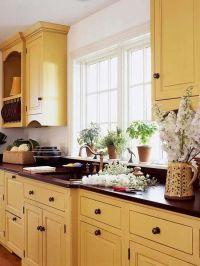 Yellow kitchen | Kitchens | Pinterest