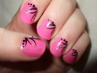 dots and lines | Nail Art Ideas | Pinterest