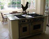 Kitchen Island with Stove Top | Kitchen Dreams | Pinterest