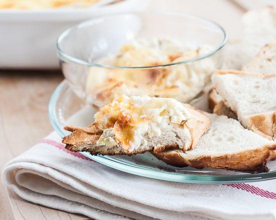cheesy green chile artichoke dip recipe