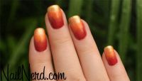 Fall ombre | Nails, Nails, and more Nail ideas | Pinterest