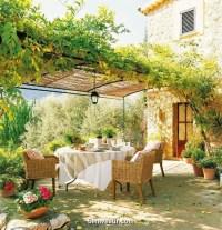"Green ""French"" Backyard | Backyard oasis | Pinterest"