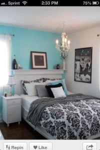 Tiffany blue room | Home Sweet Home | Pinterest