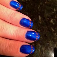 Go Gators nails | Class of 2013 | Pinterest