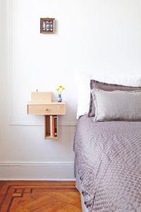 Bedside floating shelves   INSPIRATION   bedroom   Pinterest
