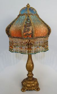 Bohemian Style Antique Beaded Lamp | BOHO DECOR | Pinterest