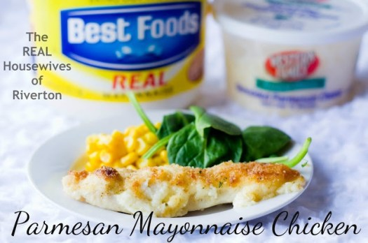 The REAL Housewives of Riverton: Parmesan Mayonnaise Chicken Recipe