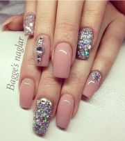 beautiful glamour blinged nails