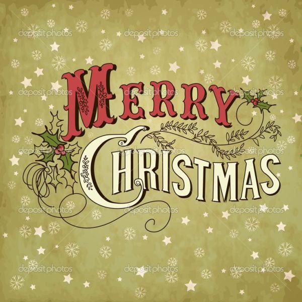 love lettering christmas