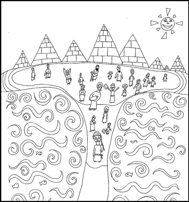 Exodus Coloring Pages Coloring Pages