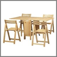 Folding Dinner Table and Chairs | Home | Pinterest