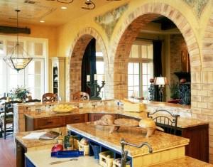 Tuscan Style Kitchen Home Design Photos Houzz