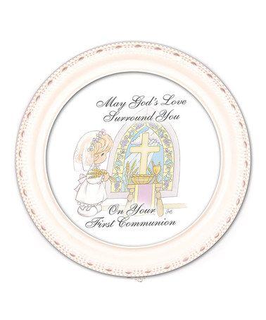 Loving this White 'First Communion' Music Box on #zulily! #zulilyfinds