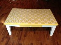 Coffee table redo   DIY   Pinterest
