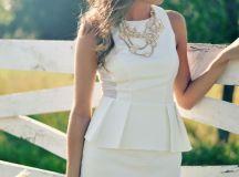 Peplum ∞ (top,dress,skirt,jacket) | The fashion Dressing!