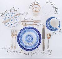 Table setting etiquette | Settings & Centerpieces | Pinterest
