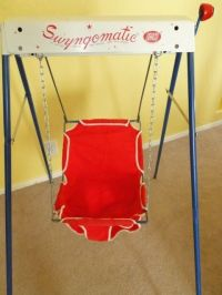 Wind up baby swing. | The good ole days!!! | Pinterest