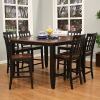 high-top kitchen table & chairs | For the Home | Pinterest
