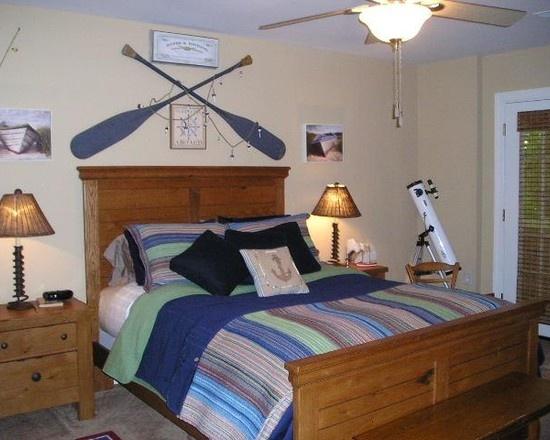 Lake House Decorating Design, guest bedroom