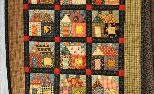 Tiny House Quilt Love It Quilting Pinterest