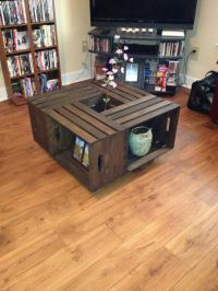 Apple Crate Coffee Table | DIY Decor and Projects | Pinterest