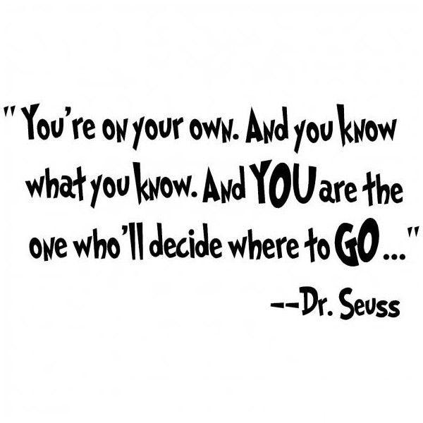 Dr Seuss Graduation Quotes Poems. QuotesGram