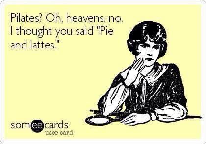 Pie and lattes?