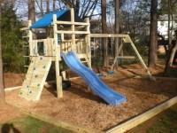 Backyard play structure   kids stuff   Pinterest