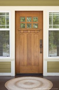 Front door of Craftsman-style home | Doors | Pinterest