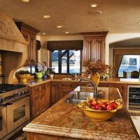 tuscan country kitchen | Dream Home | Pinterest
