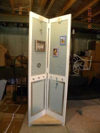 Re-purposed Bi-Fold Door | repurpose | Pinterest