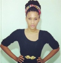 Box braids, Protective hairstyles and Hippie headbands on