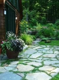Fieldstone patio | Our Garden | Pinterest
