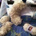 Wreath with sashay yarn sashay yarn ideas pinterest