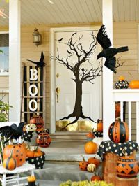 Cute outdoor Halloween decor | All things Halloween ...