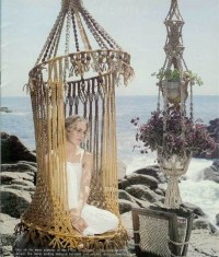 Macrame hanging chair   Products I Love   Pinterest